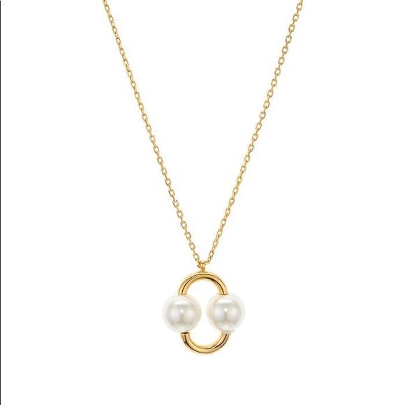 Kate Spade Nouveau Simulated Pearl Necklace